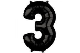 בלון סיפרה 3 שחור
