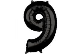 בלון סיפרה 9 שחור
