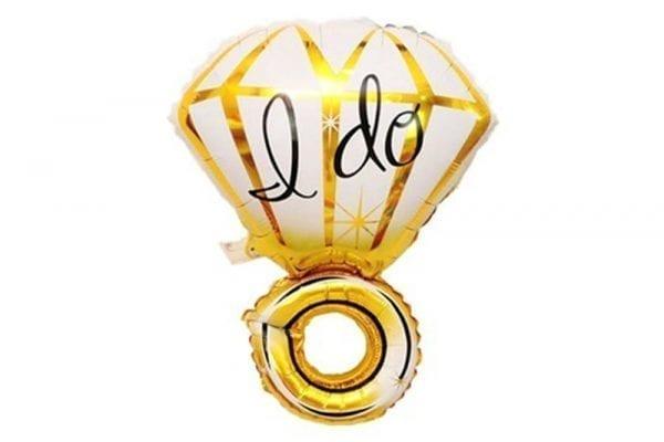 בלון טבעת I DO זהב