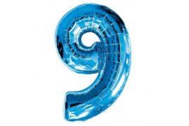 בלון סיפרה 9 כחול