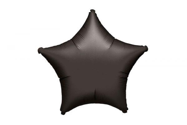 בלון מיילר בצורת כוכב בצבע שחור