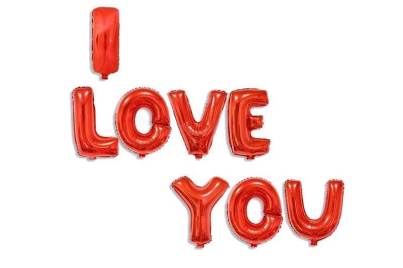 בלוני I love You