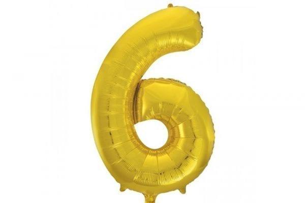 בלון סיפרה 6 זהב