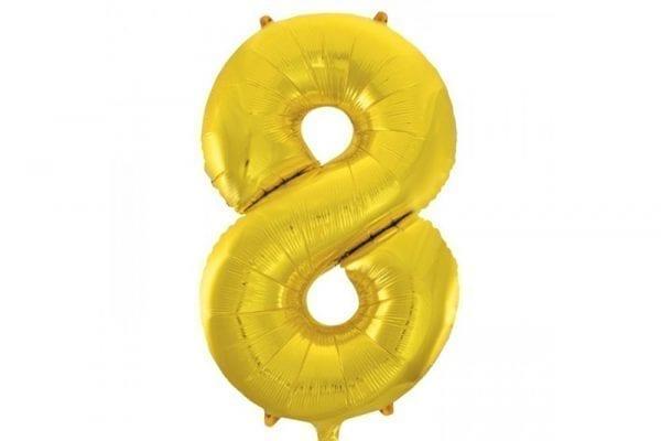 בלון סיפרה 8 זהב