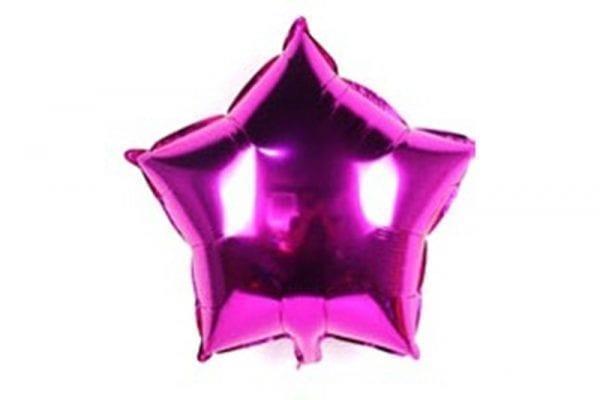 בלון מיילר בצורת כוכב בצבע סגול