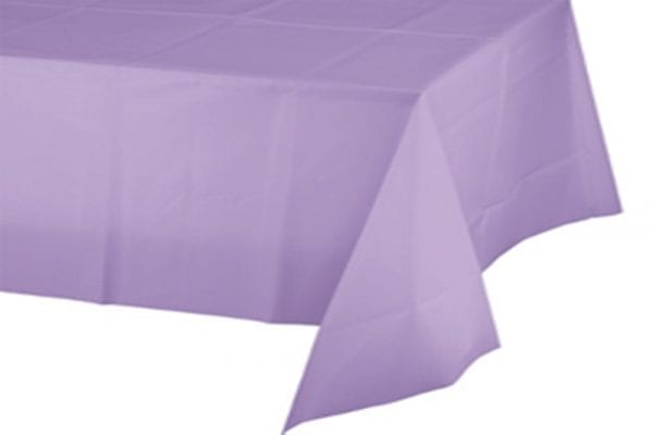 מפת שולחן בצבע סגול לילך