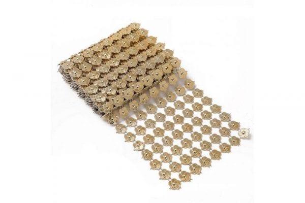 רנר חרוזים צבע זהב
