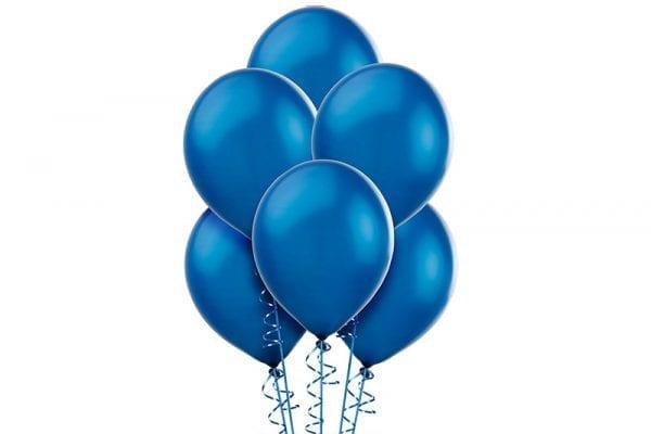 בלונים כחולים