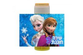 בועות סבון ממותגות אנה ואלזה