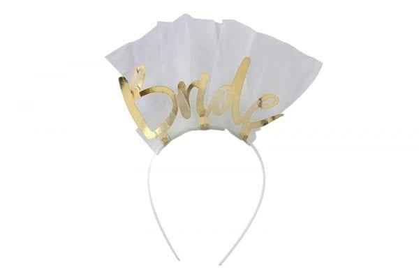 קשת Bride טול זהב