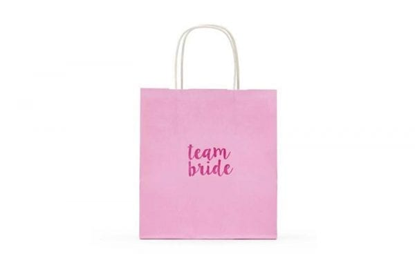 שקית מתנה Team Bride