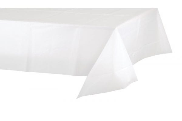 מפת שולחן - לבנה