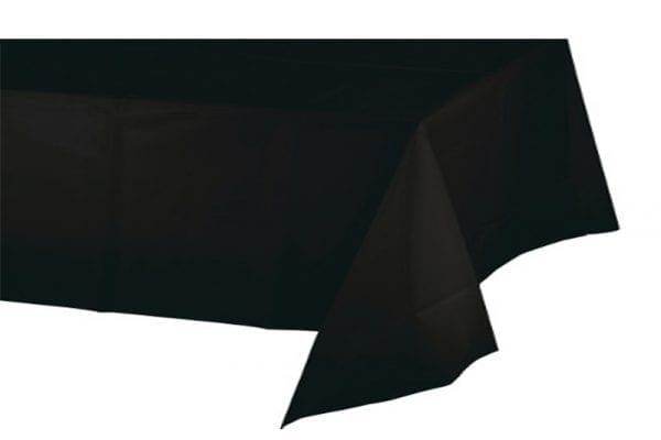 מפת שולחן שחורה