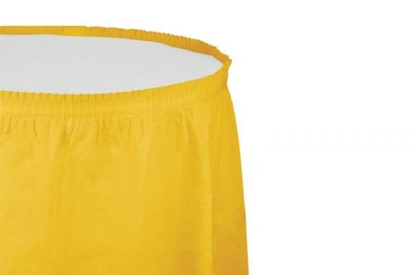 חצאית שולחן - בננה