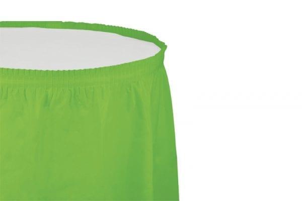 חצאית שולחן - ירוק