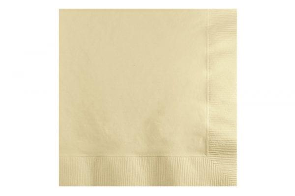 מפיות נייר צבע שמנת