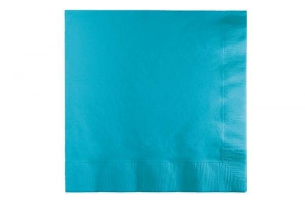 מפיות נייר בצבע כחול ברמודה