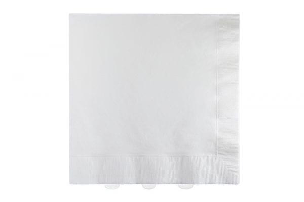 מפיות נייר לבנות
