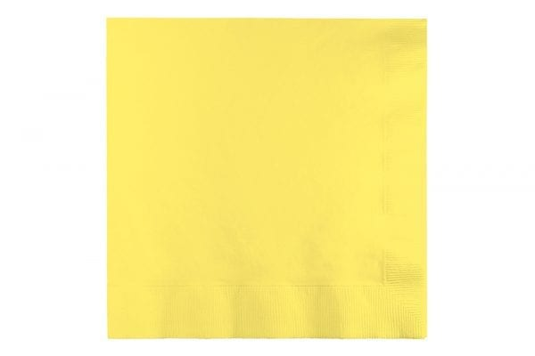 מפיות נייר בצבע בננה