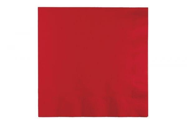 מפיות נייר אדום