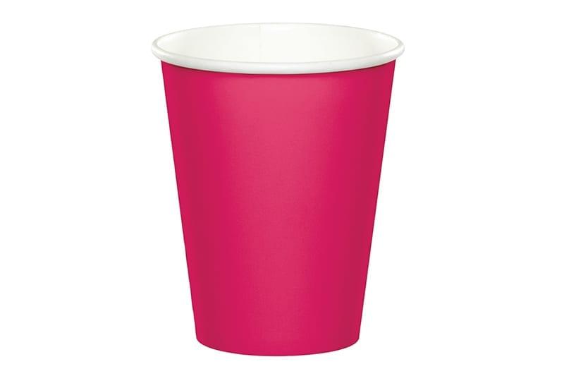 כוסות שתיה חמה - ורוד פוקסיה