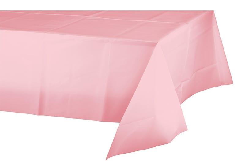 מפת שולחן בצבע ורוד בייבי
