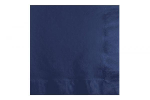 מפיות נייר בצבע כחול