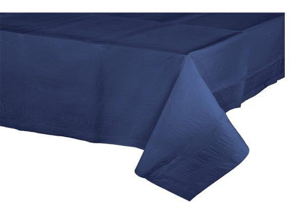 מפת שולחן כחולה