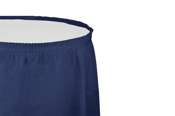 חצאית שולחן - כחול