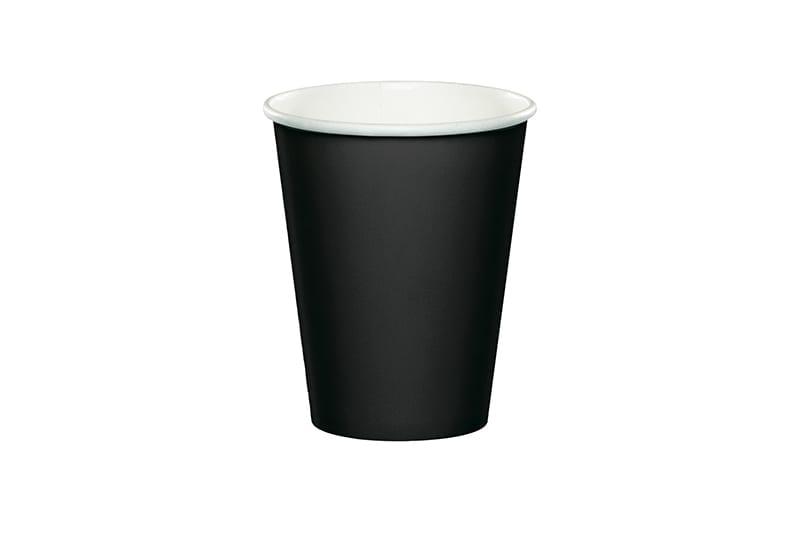 כוסות שתיה חמה - שחור