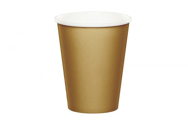 כוסות שתיה חמה זהב