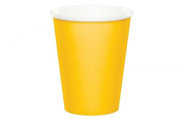 כוסות שתיה חמה - צהוב