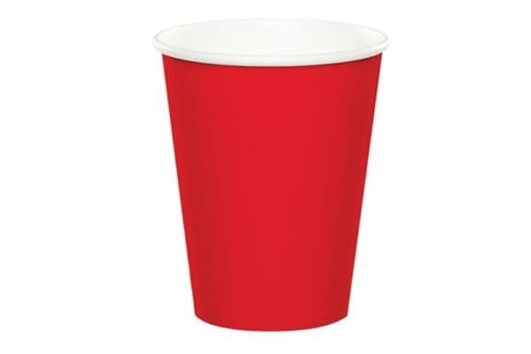 כוסות שתיה חמה - אדום