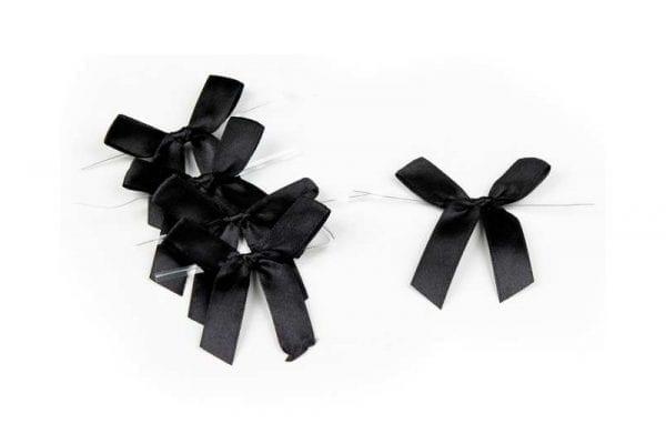 פפיון לאריזה צבע שחור