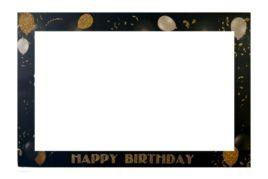 מסגרת צילום Happy Birthday
