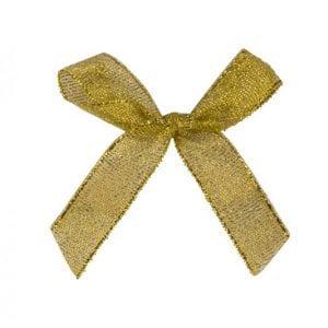 פפיון לאריזה צבע זהב