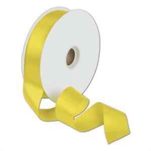 סרט סאטן צהוב 2 ס