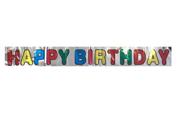 כרזת יום הולדת Happy Birthday