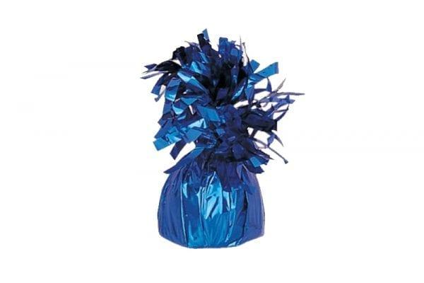 משקולת לבלונים כחולה