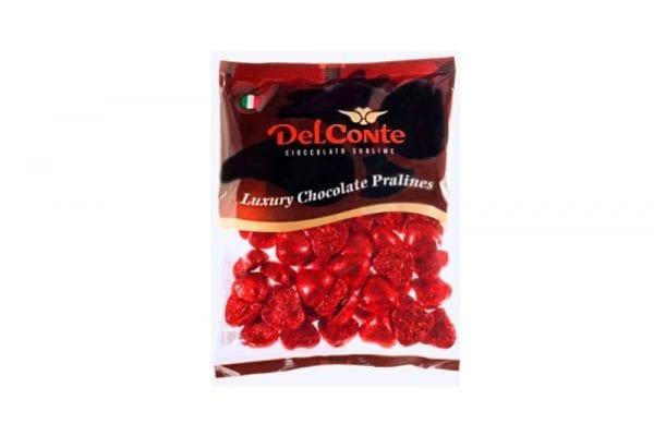 שוקולד לבבות אדום