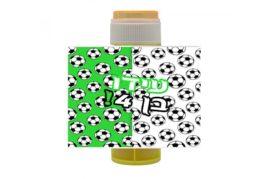 בועות סבון ממותגות מגרש כדורגל