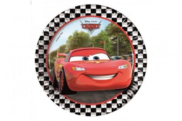 צלחות עגולות - מכוניות