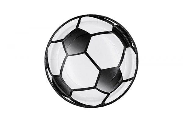 צלחות כדורגל קטנות