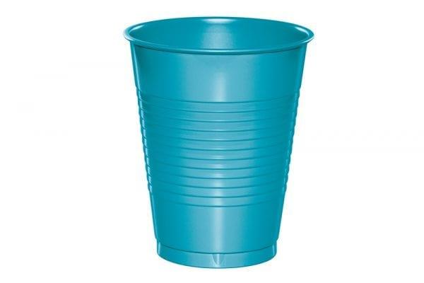 כוסות פלסטיק כחול ברמודה