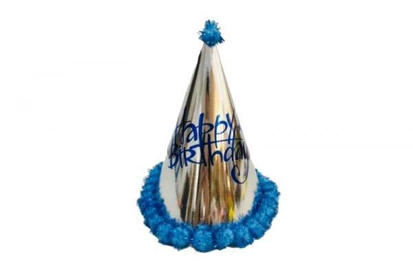 כובעי יום הולדת Fancy Blue