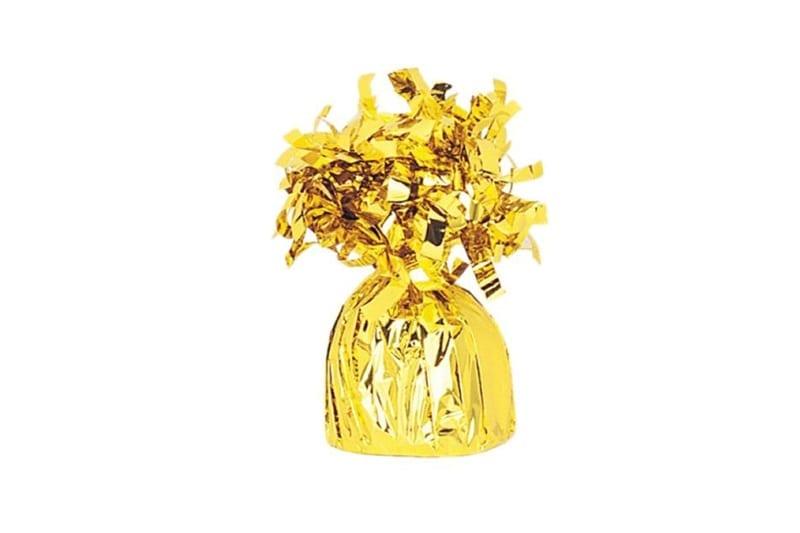 משקולת לבלונים זהב