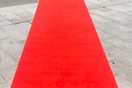 שטיח לבד אדום