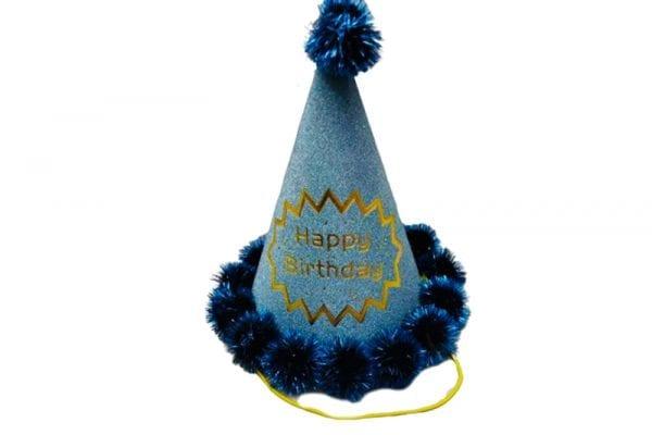כובעי יום הולדת Royal Blue