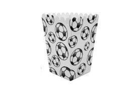 קופסאות פופקורן כדורגל